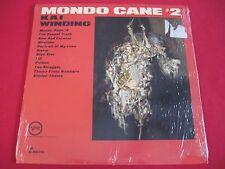 RARE SEALED JAZZ LP - KAI WINDING - MONDO CANE # 2 - VERVE V-8573