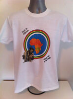 PRINCE FAR I and THE ARABS REGGAE T-SHIRT - Dub To Africa, Psalms For I
