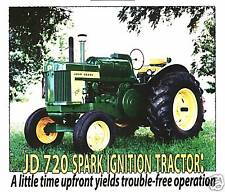John Deere Model 720 tractor Green magazine