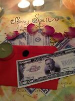 WITCHCRAFT Spell kit~ MONEY ~ Wicca ~MONEY ~pagan spell for Money & PROSPERITY.