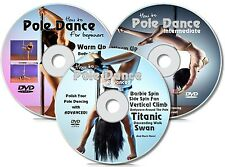 Pole Dancing 3 x DVD Bundle Pole Dance Course | Tone Your Body & Drive Him Crazy