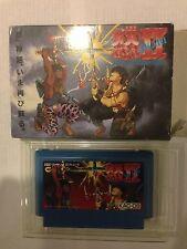 NINTENDO NES Famicom Ikari II Dogosoken with box RARE