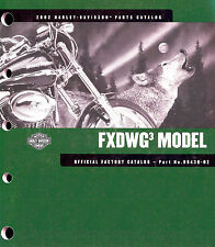 2002 HARLEY-DAVIDSON FXDWG3 WIDE GLIDE PARTS CATALOG MANUAL-FXDWG-SCREAMIN EAGLE