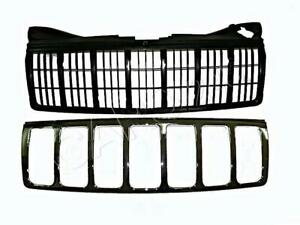 JEEP GRAND CHEROKEE WK 2005-2007 Front Grill Center Grille chromed