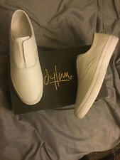 HUF Dylan Rieder Slip Shoe Size 11.5 M US White Leather