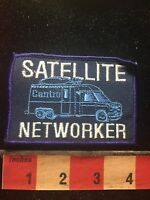 Vtg Centro Satellite Networker Patch C761