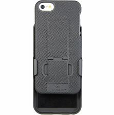 WizGear Shell Holster Combo Case for Apple iPhone Se / 5 / 5S w Kick-Stand