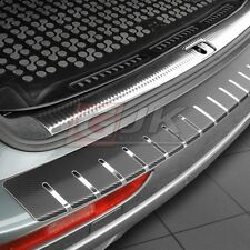 BMW X6 I E71 2008-2014 PROTECTION DE SEUIL DE CHARGEMENT INOX + CARBONE