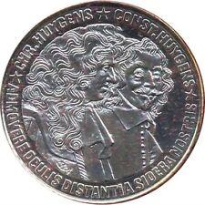 HOLANDA 25 ECU DE PLATA PROOF HUYGENS 1989 CON CAJA