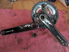 Shimano Deore XT M785 2x10 MTB Crankset 38/26T 175mm Black, sm-bb70