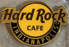 """Hard Rock Cafe INDIANAPOLIS 2018 Classic HRC Logo MAGNET 2.75"""" x 2"""" New CITY"""