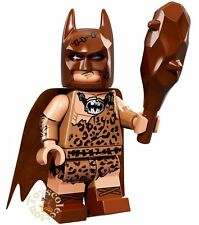 LEGO MINIFIGURES THE BATMAN MOVIE 1- CLAN OF THE CAVE BATMAN 71017 ORIGINAL
