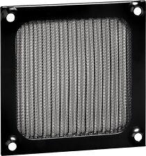 Lüftergitter * Aluminiumfilter * 140 x 140 mm für 140 mm Gehäuselüfter * schwarz