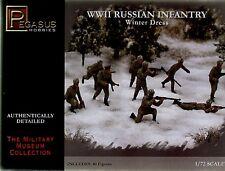 Pegasus Hobbies 1/72 2ND GUERRE MONDIALE Infanterie Russe Habit D'hiver # 7269
