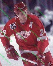 Bob Probert Detroit REDWINGS 8 x 10 color GLOSSY PHOTO hockey #D7Pkjgs1RR