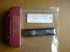 #8 Hohner Marine Band Model 364 12-hole Harmonica, in D, VG Used