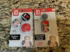 One Direction Niall Collectable Pin and Dog Tag NEW