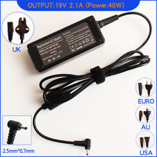 AC Power Adapter Charger for Asus Eee PC 1225B-RED026M Laptop