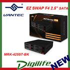 "VANTEC EZ SWAP F4 2.5"" SATA MOBILE RACK SSD/HDD MRK-425ST-BK"