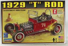 """LINDBERG 1/24 1929 """"t"""" ROD KIT #72179 REL IN 2009 NICE"""
