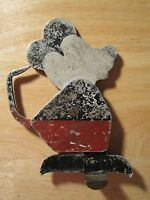 ANTIQUE CARNIVAL AMUSEMENT PARK SHOOTING TARGET EARLY RARE MICKEY MOUSE FOLK ART
