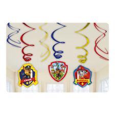 Amscan 999144 Paw Patrol Swirls Decorations 013051557324