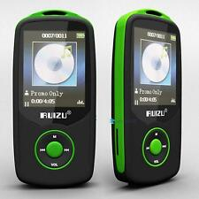 "1.8"" TFT Bluetooth MP3 Player support TF card 4G storage Built in FM Radio B GRC"