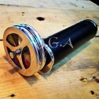 Antique Brass Double Wheel Kaleidoscope Collectible Telescope