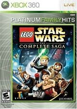 LEGO Star Wars: The Complete Saga [Xbox 360, Platinum Hits, Adventure] NEW