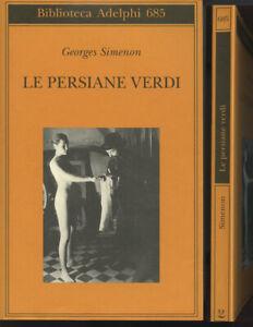 Le persiane verde Georges Simenon