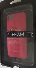 neu ° BEON Stream Snap On-Case + Schutzfolie + Reinigungstuch für iPhone 7 rot