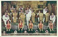 Hotel Lexington Hawaiian Room Ray Kinney Orchestra Aloha Maids NYC Postcard