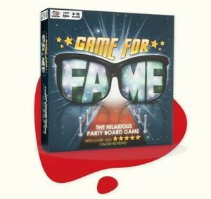 Mcmiller Game For Fame the hilarious party board game 4-16 players, ages 10+