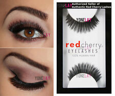 LOT 3 Pairs GENUINE RED CHERRY #119 Hunter False Eyelashes Human Hair Lashes