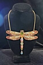 Kirks Folly One of a Kind Gorgeous Dragonfly Necklace