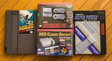 1ST PRINT NES + SNES Classic Edition mini - AUTHENTIC Rare Books Nintendo Super