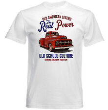 American VINTAGE FORD PICK camión F1-Nuevo Algodón Camiseta