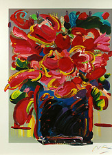 "Max, Peter   ""Abstract Flowers""    Print   MAKE OFFER"