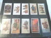 1930 FIRE-FIGHTING APPLIANCES Complete Player Tobacco Card Set of 50 cards lot