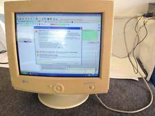 """Vintage 17"""" CRT monitor LG StudioWorks 775N"""