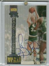 LARRY BIRD Certified Autograph 1994 Signature Rookies Tetrad Card #CXX = #120