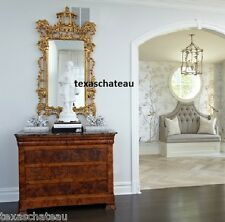 xl large ornate gold wall mirror french chinoiserie regency antique style new - Baroque Home Decor