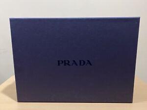 Prada Purple Empty Storage Shoe box With Card  13.6x9.8x5.5