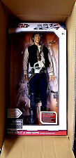 "Han Solo 1/4 Scale 19"" Movie Sounds Action Figure Mos Eisley New 2010 Star Wars"