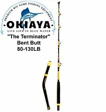"OKIAYA  ""THE TERMINATOR"" 80-130lb Bent Butt Saltwater Roller Rod 5'6"""