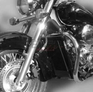 PARAMOTORE PARACOLPI HONDA VT 750 SHADOW E HONDA BLACK SPIRIT Ø38 MM CROMATO