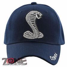 NEW! COBRA BALL CAP HAT NAVY