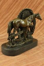 Plastiken & Skulpturen von Pferden Künstlerische aus Bronze