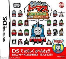 Used DS Kikansha Thomas: Kokugo Sansuu Eigo NINTENDO JAPANESE IMPORT