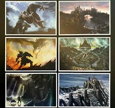 The Elder Scrolls Skyrim - Collectors Set of 6 Exclusive Concept Art Postcards